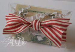 Acetate Pillow Box Christmas