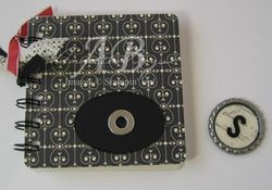 Coaster Notebook magnet off