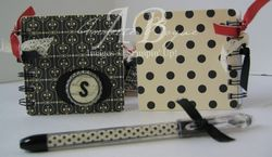 Coaster Notebook front and back