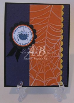 Spider card front