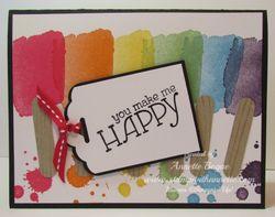 Happy Watercolor popsicles