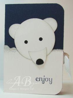 Polar Bear punch art front