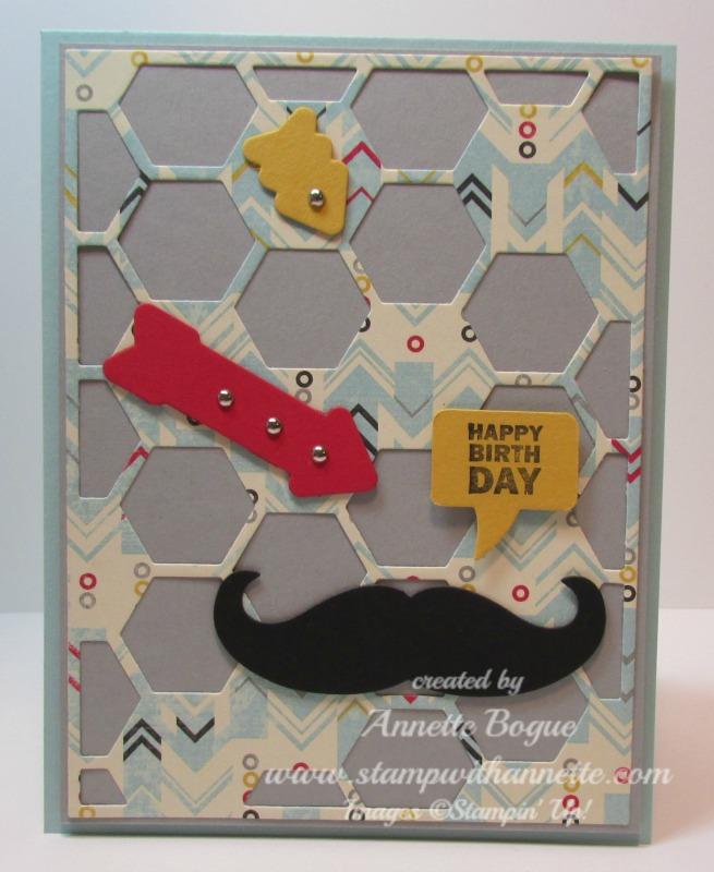 Hexagon Hive Mustache