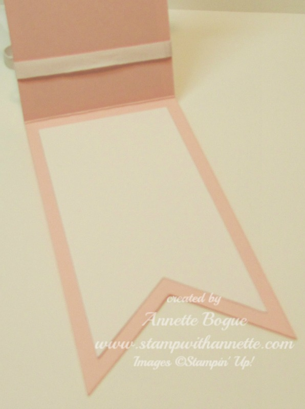 Pink Pirouette Bannet Thank You inside