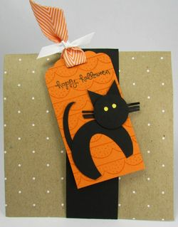 Halloween treat_cat punch art