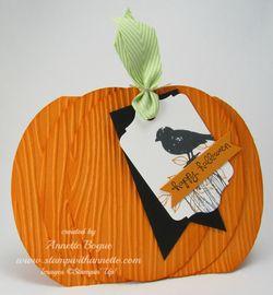 Choose Happiness pumpkin