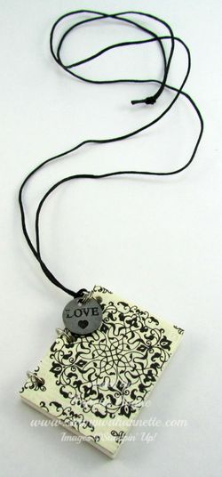 Mini Journal Necklace