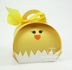Chick Curvy Keepsake Box