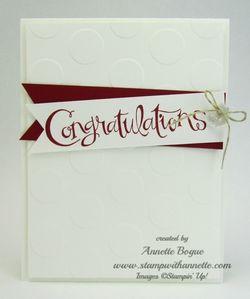 Sassy Salutations Congrats