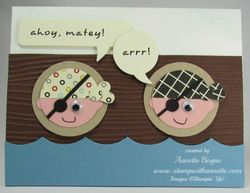 Pirate punch art card