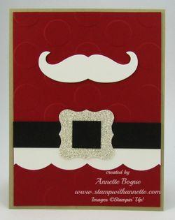 Santas Mustache