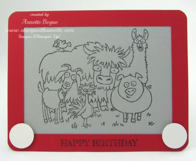 From the Herd EtchaSketch