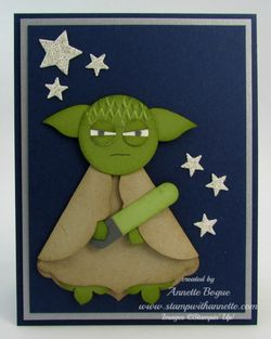 Yoda BDay punch art