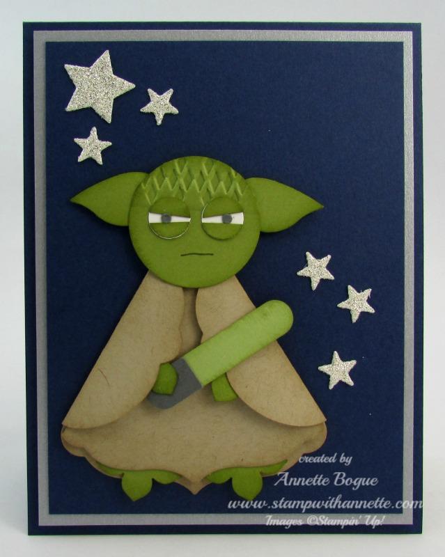 Yoda BDay punch art