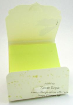 Choose Happiness PostIt Holder 2