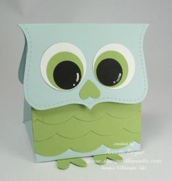 Top note owl box