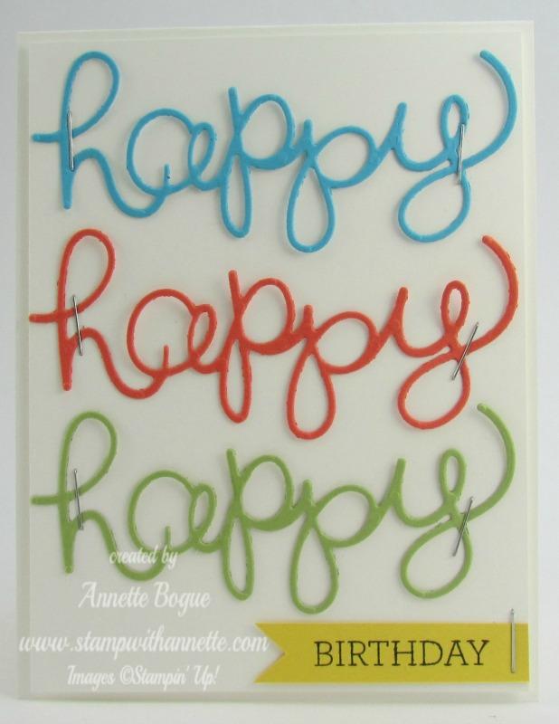 Happy3 BDay Card